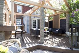 house building estimate what we do backyard deck design by paul lafrance design