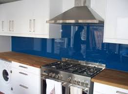 Glass Backsplash For Kitchens by Painted Glass Backsplash Ideas Home Painting Ideas