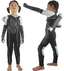 Battlestar Galactica Halloween Costume Hunger Games Cosplay Costume Uniform Jumpsuit Quiver