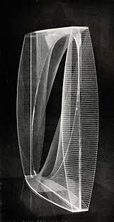 18 square naum gabo linear construction variation 1942 1943 plastic 18