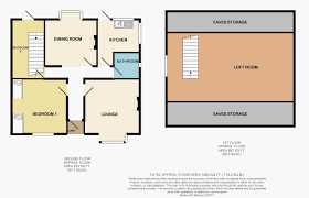 Bungalow Ground Floor Plan by 2 Bedroom Detached Bungalow For Sale In New Street Brighouse Hd6