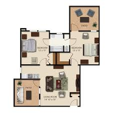 floor plans the carillons
