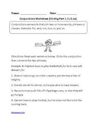 5th grade common core language worksheets englishlinx com