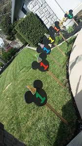 mickey mouse clubhouse birthday diy decorations hudson s 1st