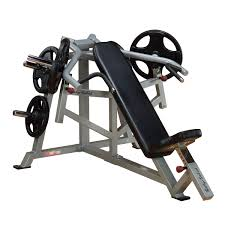 Incline Bench Press Grip Lvip Leverage Incline Bench Press Body Solid Fitness