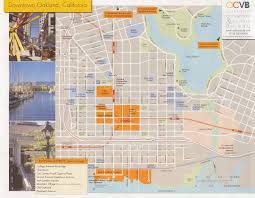 Map Of Oakland Oakland Tourist Map Oakland California U2022 Mappery