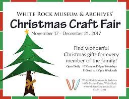 white rock museum christmas craft fair u2013 explore white rock
