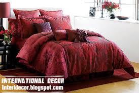 interior design 2014 modern red duvet cover sets dark red duvet