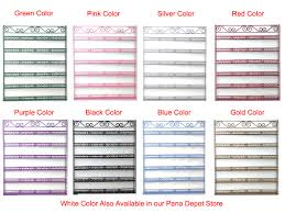 metal wire nail polish display organizer wall rack hold 90 to 126