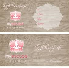 custom gift certificates gift certificate template free gift certificates