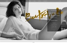 design magazine site ben trovato fashion editorial magazine webdesign inspiration www
