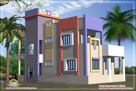 Kerala Home Design Blogspot by Indian Flat Roof Villa In 2305 Sqfeet Kerala Home Design And New