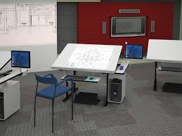 Computer Drafting Table Modern Drafting Table All In One Afcindustries