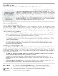 human resource resume cover letter free resources supervisor