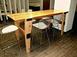 narrow dining table with bench u2013 amarillobrewing co
