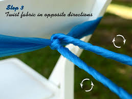 diy chair sashes party ideas by mardi gras outlet diy chair sash rosettes a tutorial