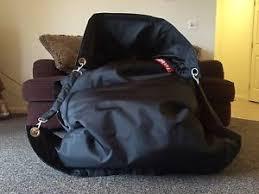 fatboy buggle up bean bag chair black ebay