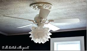 52 White Ceiling Fan by Ceiling Fan White Flush Mount Ceiling Fan With Light And Remote
