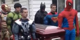 superhero funeral for brayden denton 5 year old boy who died of