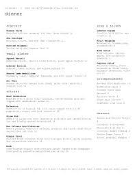 restaurant menu templates musthavemenus