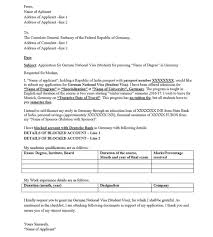 best solutions of cover letter for student visa usa about job