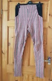 red patterned leggings river island red patterned leggings size 12 fab condition ebay