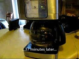 How to unclog a Mr Coffee JWX31 coffee maker