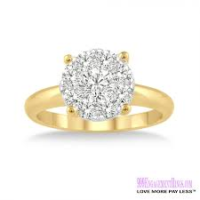 how to pay for an engagement ring engagement ring lm 1103 yg 3 4 carat 999 engagement