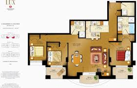 plan appartement 3 chambres plan maison moderne 3d beau plan appartement 3 chambres 50 plans 3d