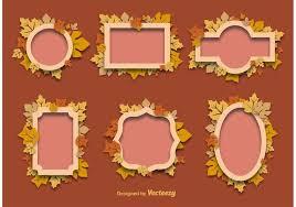 Autumn Decorative Frames Download Free Vector Art Stock