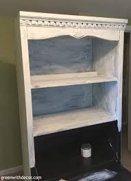 black bookshelf with cabinet how to paint a bookshelf spray or paint by hand green with decor