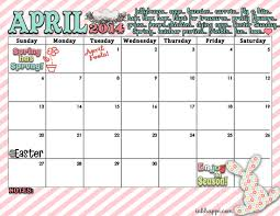april calendar and spring print is here inkhappi
