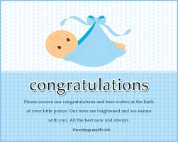 congratulation messages for new born baby boy wordings and messages