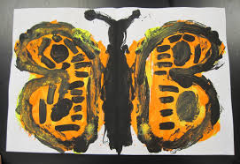 there u0027s a dragon in my art room b is for butterfly monoprint