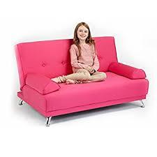 children u0027s cotton twill convertible 2 seater clic clac sofa bed