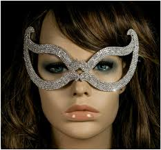halloween crystal ball with head bijou romantic cat eye silver crystal masquerade mask u2013 beloved