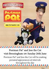 postman pat jess cat visit bressingham steam u0026 gardens