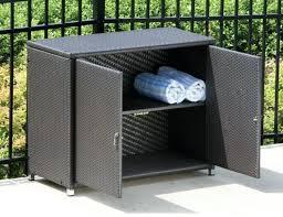 outdoor wicker storage cabinet storage cabinet outdoor image of wicker outdoor storage cabinet
