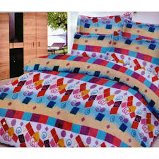 pure cotton bed sheet set bs13