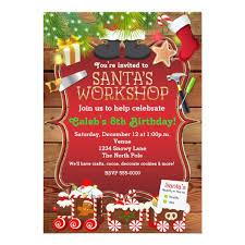 kids christmas party invitations u0026 announcements zazzle