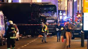 berlin terror attack horrifying dashcam video shows truck
