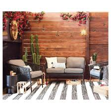 Target Threshold Patio Furniture Outdoor Rug Worn Stripe Black U0026 White Threshold Target