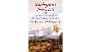 book review u0027washington u0027s immortals the untold story of an elite