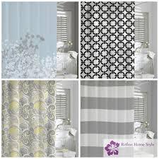 Kassatex Shower Curtain Kassatex 100 Cotton Shower Curtains Refine Home Style Ltd In