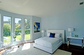 light blue decor in main bedroom 4 home ideas