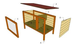 How To Build An Indoor Rabbit Hutch Outdoor Rabbit Hutch Plans Myoutdoorplans Free Woodworking