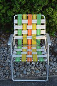 Outdoor Chair Webbing Best Folding Aluminum Lawn Chairs Pictures Home Ideas Design