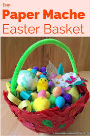 paper mache easter baskets easy paper mache easter basket easter baskets paper mache and