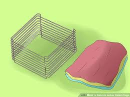 How To Build An Indoor Rabbit Hutch How To Build An Indoor Rabbit Cage 12 Steps With Pictures