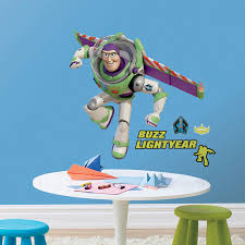 buzz lightyear bedroom toy story bedroom decor buzz lightyear giant wall sticker at toystop